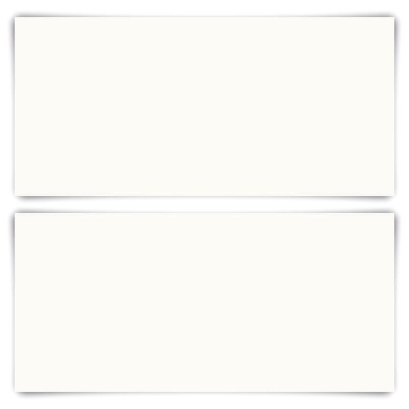 150 x Blanko Karten DIN Lang 210 x 99 mm Naturpapier 300 g/qm
