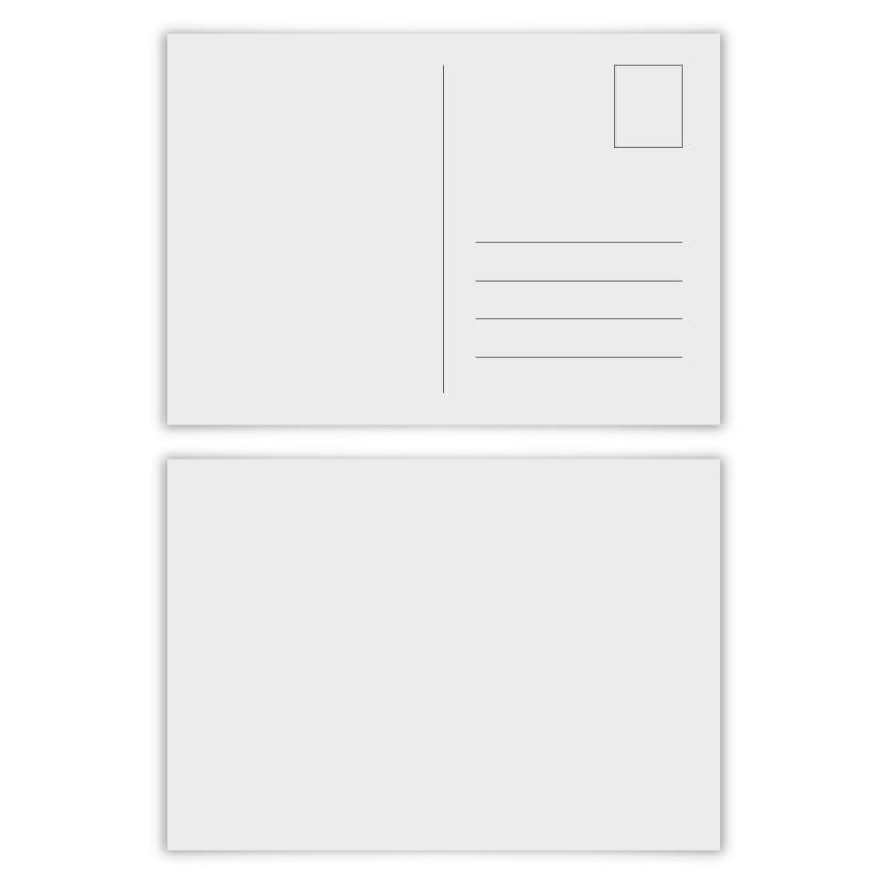 100 x Blanko Postkarten im Format DIN A6