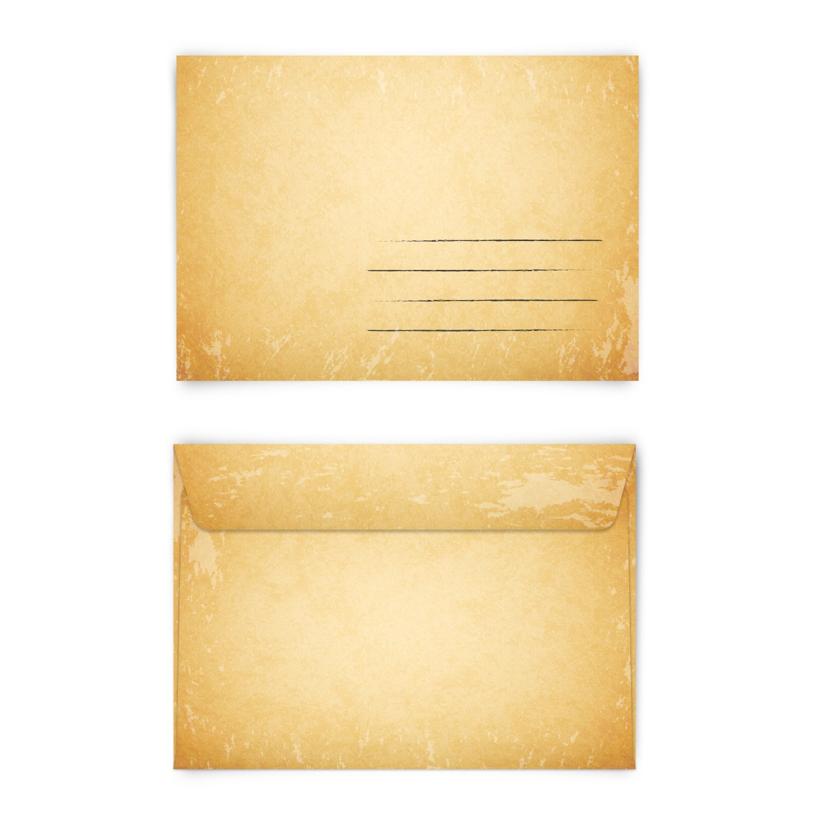 Vintage Briefumschläge Im Format Din C6 Online Bestellen