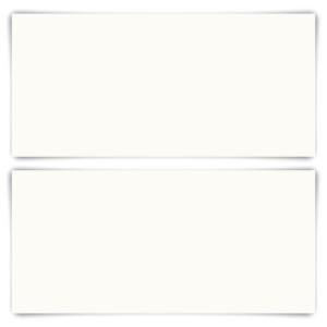 25 x Blanko Karten DIN Lang 210 x 99 mm Naturpapier 300 g/qm