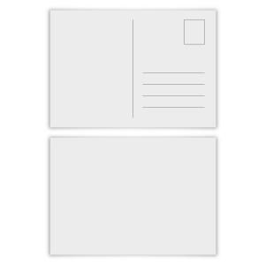 150 x Blanko Postkarten im Format DIN A6