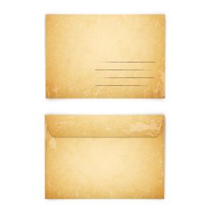 Briefumschläge Vintage DIN C6 selbstklebend mit Adresszeile