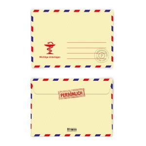 Briefumschläge Arzt DIN C6 selbstklebend mit Adresszeile