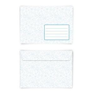 Briefumschläge Kuverts Jungs Blau