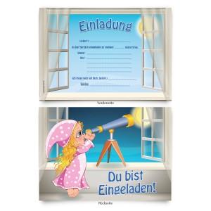 """Einladungskarten zum Geburtstag """"Nachthimmel"""""""