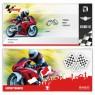 """Geburtsag Einladungskarten (12 Stück) """"Motorrad Ticket"""""""